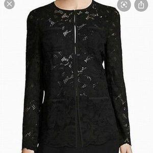 Karl Lagerfeld lace blazer